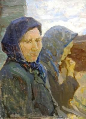 """Виноградов С. """"Колхозницы"""" 1959г."""